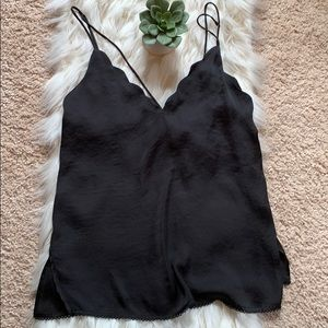 Free People Scalloped Cami🖤